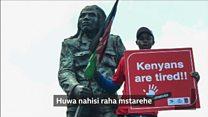 Mchongaji sanamu maarufu anayetumia mkono mmoja Kenya
