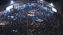 Stampede at rapper's vigil in LA
