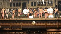 Why I protested semi-naked during Brexit debate