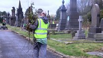 The volunteers who look after strangers' final resting places