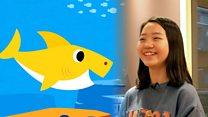 '아기상어' 목소리의 주인공을 만나다