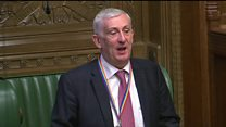 Commons suspends due to water leak