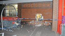 Raiders pull cash machine through wall