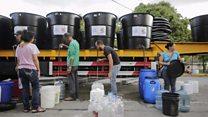 Venezuela's water crisis in Caracas
