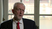 Corbyn: No change in Brexit 'red lines'