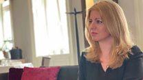 Slovakia's Caputova says populism not the answer