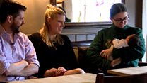 Baby delivered in pub