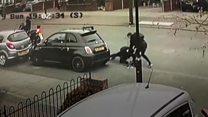 Carjacking ordeal caught on CCTV