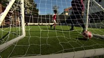 Blind footballer tipped for England success
