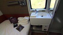 'Hotel on wheels' train service