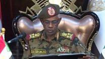 الجيش السوداني يعلن عزل عمر البشير من منصبه