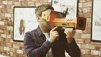 Trying Nintendo's new virtual reality kit