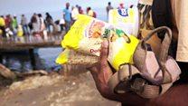 Milk for fish: Bartering in Venezuela