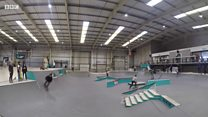 First ever national skateboard competition for Olympic hopefuls.