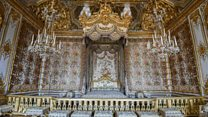 Marie Antoinette's Versailles chambers on display