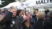 Maltepe'de oy sayımı da protestolar da sürüyor