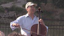 Bach at the US border