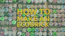 How do you build an ecobrick?