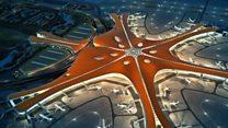 La impresionante estructura del nuevo aeropuerto más grande del mundo