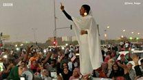 Matan da suka yi ka-ka gida wajen hambarar da shugaban Sudan