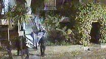 Moment knife man attacks Met officers