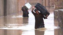 بارندگی شدید و آبگرفتگی در کابل