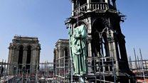 نوتردام: بناء فريد تداعى قبل الحريق