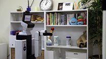 The robot that tidies up bedrooms
