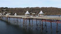 Fighting for one of Wales' oldest piers