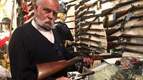'I've collected 1,200 guns in my shed'
