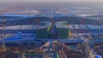 बीजिंगमध्ये साकारतोय अजस्र विमानतळ