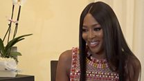Naomi Campbell on racism, fashion and food
