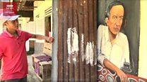 'Kampung Jokowi' di 'markas' Prabowo