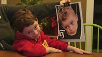 امریکی بچے کی بیزار مسکراہٹیں، چین میں وائرل