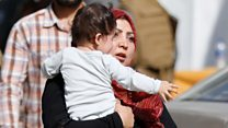 People flee Kabul ministry attack