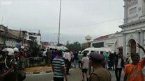 श्रीलंका में बम धमाके, अब तक 122 की मौत