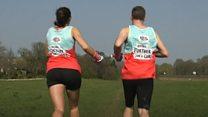 Couple attempt 'handcuffed marathon' record