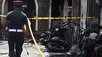 Взрывы на Шри-Ланке. Видео