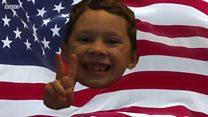8살 미국 소년 토마스는 중국의 유명인이다