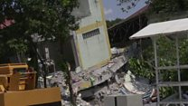Philippines earthquake effects