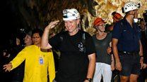 Thai rescuers return to cave