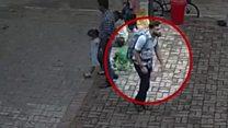 CCTV of Sri Lanka church bomb suspect