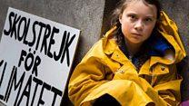 من هي المراهقة التي تقود حملة دولية في مجال تغير المناخ؟