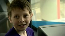 How buses helped boy with autism
