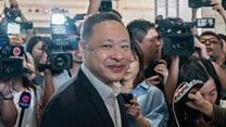 Hong Kong jailed activist to 'come back stronger'