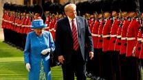 Remember Trump's last UK visit?