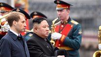 Kim-Putin: Kim Jong-un arrives in Vladivostok