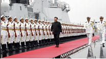 Trung Quốc kỷ niệm 70 năm thành lập Hải quân