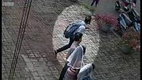 သီရိလင်္ကာမှာ ဗုံးခွဲခဲ့သူတွေထဲက တစ်ဦးရဲ့ပုံ