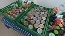 Food bank referrals pass 100,000
